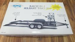 1:18 Diecast Metal Car Trailer Hauler By GMP For Model Cars