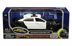 Motor Max 1/24 2013 Ford Police Interceptor w/ Light and Sou