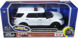 Motormax 1/24 LIGHTS & SOUNDS Blank White Ford Utility Explo