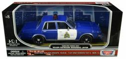 Motormax 1/24 RCMP Royal Canadian Mounted Police 1986 Dodge