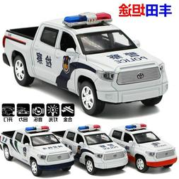 1:32 Diecasts Toy Vehicles Police TOYOTA TundraToy Car Model