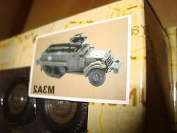 Newray 1/32 SCALE ARMY M3A2 A-A Half Track For LGB, USA, Bac