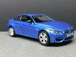 """1:34 Showcasts BMW M4 Approx 4.5"""" Long -  Great for Display"""