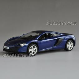 1:36 Mclaren 650S DieCast  Model Pull Back Toy Car For Child