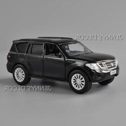 1:36 Nissan Patrol Y62 DieCast  Model Pull Back Toy Car For