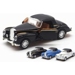1/36 Scale Vintage Benz Diecast Cars Model Toys with Sound &