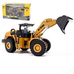 Ailejia 1/50 Scale Diecast Articulated Dump Truck Alloy Mode