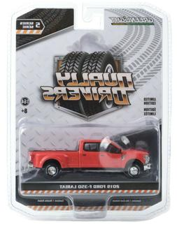 1:64 GreenLight *DUALLY DRIVERS 5* Race Red 2019 Ford F350 P