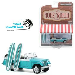 Greenlight 1:64 Hobby Shop - 1968 Kaiser Jeep Jeepster with