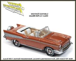 Johnny Lightning 1/64th Scale Diecast Car '57 Chevy Bel Air