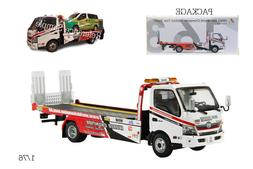 1/76 TINY 163 CHAMPION HINO FLATBED TOW TRUCK DIECAST for 1/