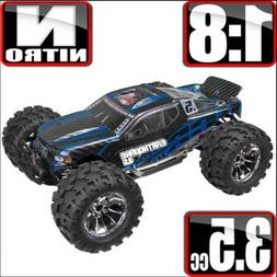 1/8 Redcat EARTHQUAKE 3.5 RC Nitro 4WD Truck 2.4ghz Remote C