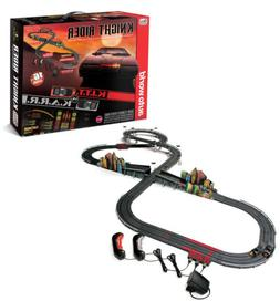 Auto World 16' Knight Rider Slot Car Race Set W/ K.I.T.T. an