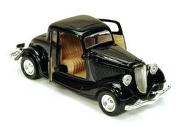 1934 Ford Coupe Black Motormax 73217 1/24 Scale Diecast Mode