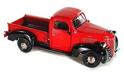 1941 Plymouth Pickup Truck, Red - Motormax 73278 - 1/24 scal