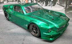 1968 Ford Mustang Custom Traxxas 4Tec 2.0 VXL Brushless 1/10