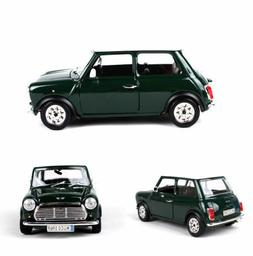 Bburago 1969 Bubble Car Model 1/24 Green Diecast Mini Vehicl