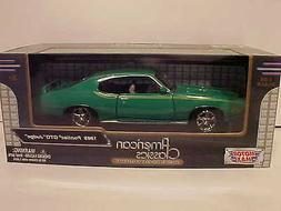 1969 Pontiac GTO Judge Coupe Die-cast Car 1:24 scale Motorma