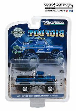1974 Ford F-250 Monster Truck Bigfoot #1 Blue The Original M