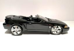 Maisto 1999 Ford Mustang GT Coupe Black 1:18 Scale Model Car