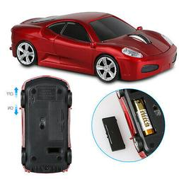2 4ghz wireless car optical mouse game