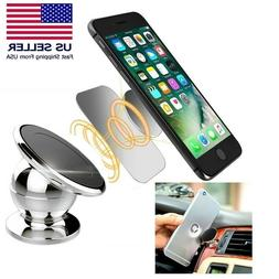 2-Pack Magnetic 360° Car Dash Mount Ball Dock Holder For Ce