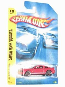 2008 New Models #1 '07 Shelby GT-500 Ford Mustang Red #2008-