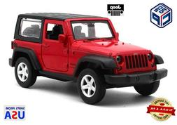 2014 jeep wrangler diecast model car 1