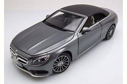 2015 Mercedes-Benz S-Class Convertible, Grey Metallic - Nore