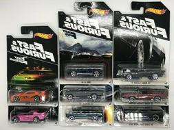 Hot Wheels 2016 Fast and Furious Set of 8 Walmart Exclusive