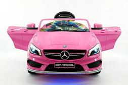 2018 Licensed Mercedes CLA45 Kids Electric Ride-ON CAR Toy,