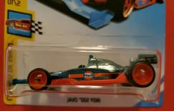 HOT WHEELS 2018 SUPER TREASURE HUNT GULF  INDY 500 OVAL with