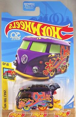 2018 Hot Wheels TREASURE HUNT HW Art Cars 8/10 KOOL KOMBI Pu