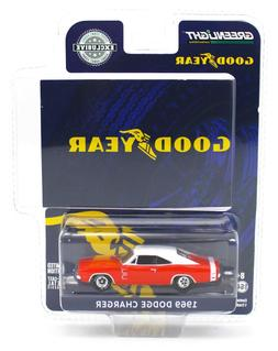 2020 NEW 1:64 GreenLight *GOODYEAR TIRES* Red 1969 Dodge Cha