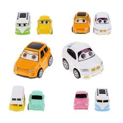 2Pcs Pull Back and Go Car Toy Play Set ,Mini Car Vehicles To