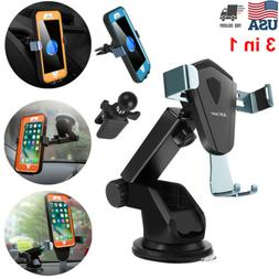 3 in 1 car phone mount holder