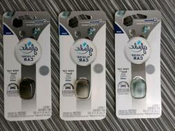 3 Pack Glade plugins for car refill NEW CAR FEEL New Sealed