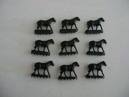 Lionel 3356-100 set  of   Black Horses for the Horse Car & C