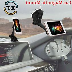 Magnetic Car Mount Holder Windshield Dashboard Suction Mount