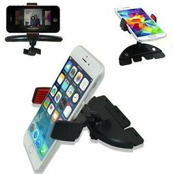 360° Car CD Dash Slot Mount Holder Cradle for iPhone Cell P
