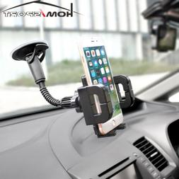 360° Car Windshield Dash Suction Mount Holder 2 in 1 for Ce
