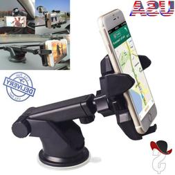 360° Car Windshield Dashboard Mount Holder For iPhone Samsu