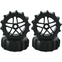 4pc RC 1/8 Paddles Buggy Tires Hex 17mm Wheels for Snow Sand