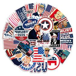 50pcs Pro President Trump 2020 Campaign Stickers for Car Bum