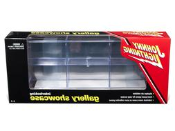 6 CAR ACRYLIC DISPLAY SHOW CASE FOR 1/64 MODELS BY JOHNNY LI