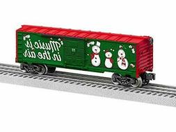 Lionel 684748 Christmas Music Boxcar - #18, O Gauge, Red, Wh