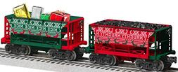 Lionel 684785 Naughty or Nice Ore Car 2 Pack, O Gauge, Red,