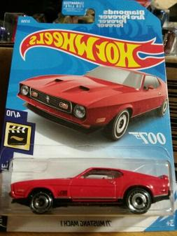 Hot Wheels '71 Mustang Mach 1. Diamonds are Forever. 007 Jam