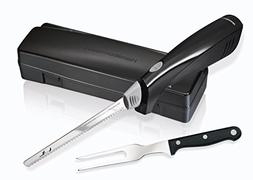 Hamilton Beach 74378R Electric Knife & Fork Carving Set Stai