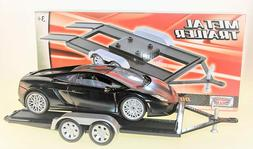 MOTORMAX 76009 DIECAST METAL AUTO TRAILER CARRIER for 1/18 S